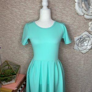 [Lularoe] Midi Mint Textured Dress